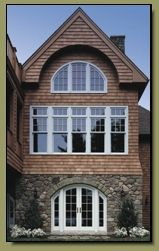 Exterior view of Marvin Casement Windows and Custom Doors