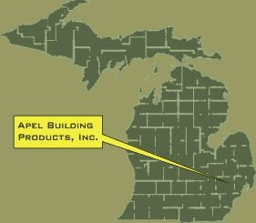 General Location Of Apel Building Products.